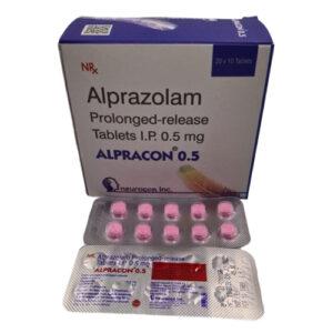 alprazolam prolonged release ip 0.5mg