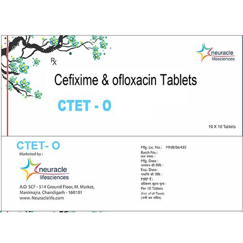 cefixime and ofloxacin