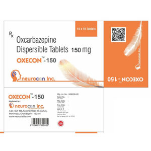 oxcabazepine dispersible 150mg