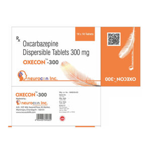 oxcarbazepine dispersible 300mg