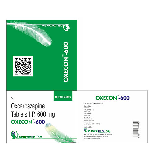 oxcarbazepine ip 600mg