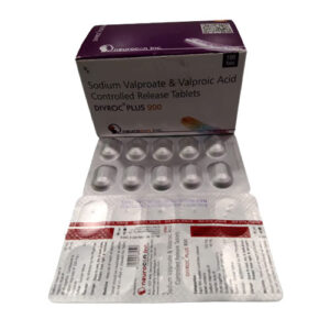 sodium valproate and valproic acid controlled release tablet