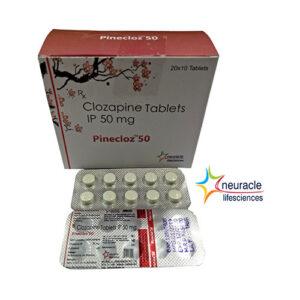 clozapine ip 50mg